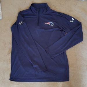 Under Armour New England Patriots Quarter Zip